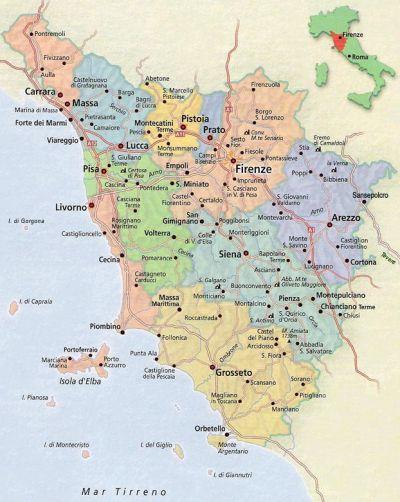 toscana térkép Magyar Honda CBF Egyesület: Fórumok / Túrák / Grand CBF Tour 2009  toscana térkép
